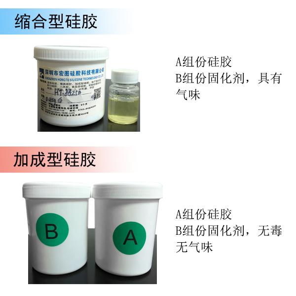 液体硅胶与固化剂